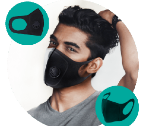 Coronavirus Safemask - máscara protetora - farmacia - onde comprar - funciona