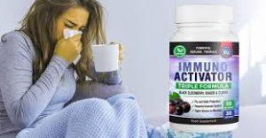 Immuno Activator - efeito antiviral - efeitos secundarios - criticas - capsule
